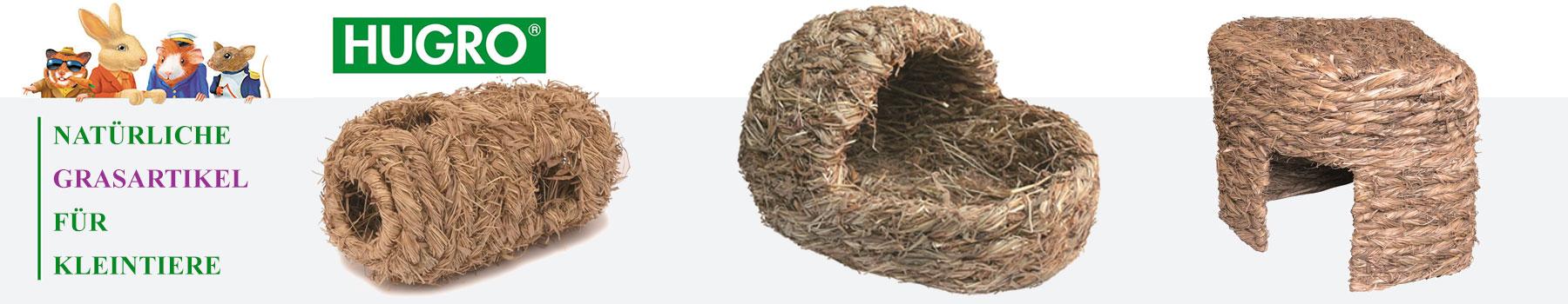 HUGRO Gras und Stroh Artikel für Nager