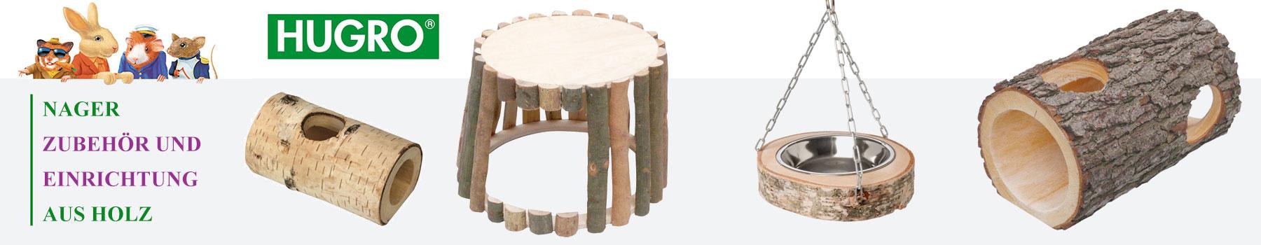 HUGRO Nagerzubehör aus Holz