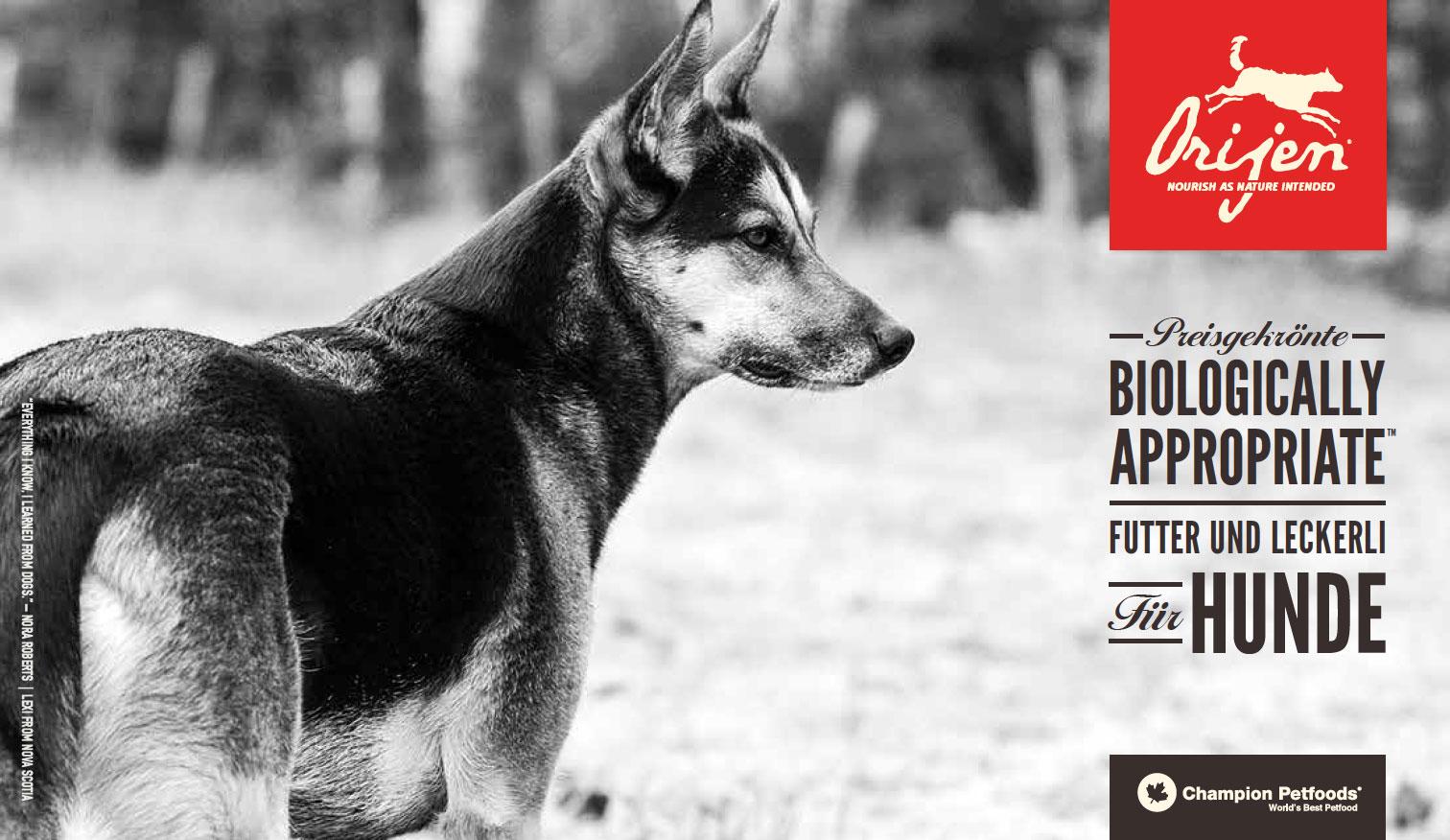 Orijen Hundefutter getreidefrei günstig kaufen