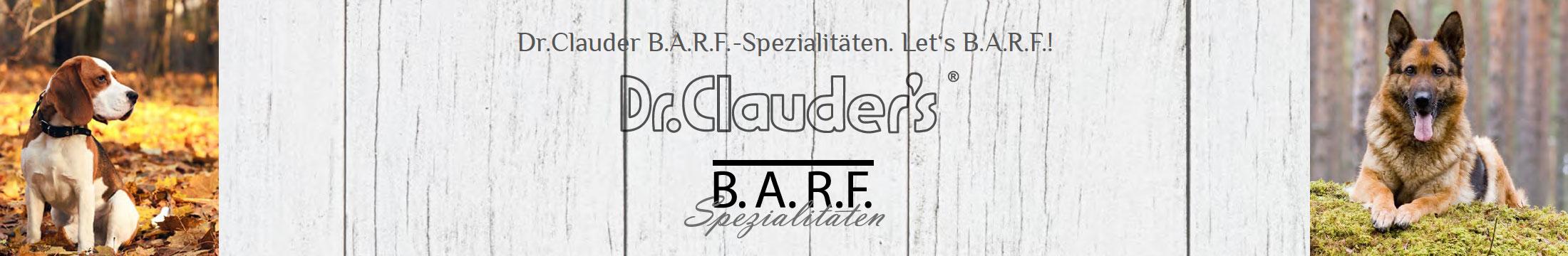 Dr. Clauder's BARF Hundefutter