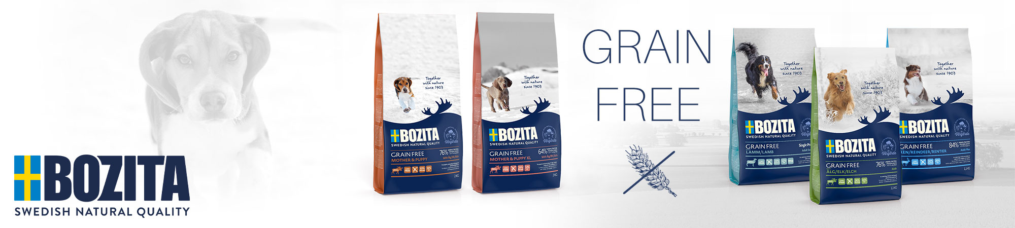 Bozita Grain Free getreidefreies Hundefutter