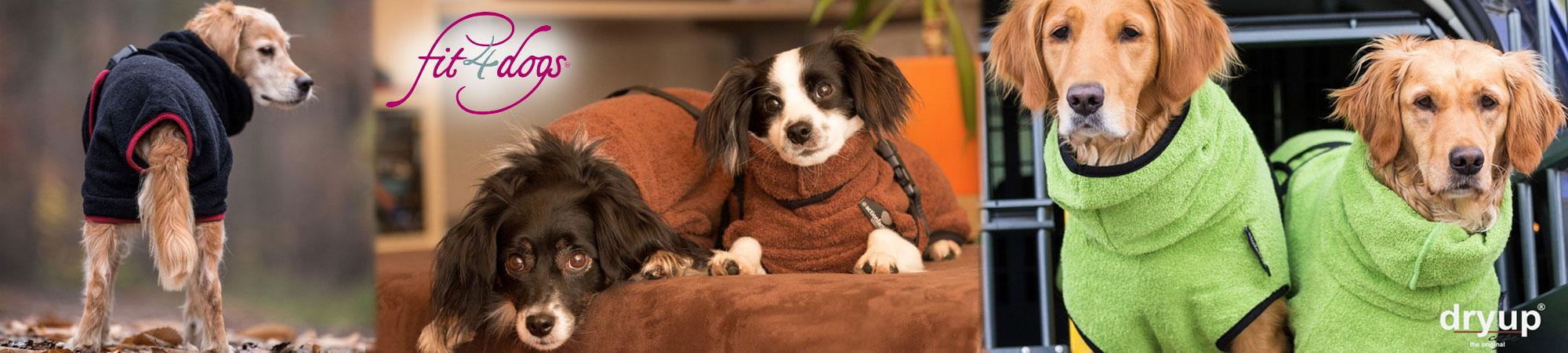 Fit4Dogs Hundemäntel Trockenmäntel und Capes