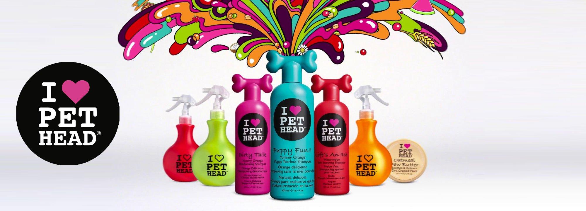 Pet Head Hundeshampoo und Hundepflege
