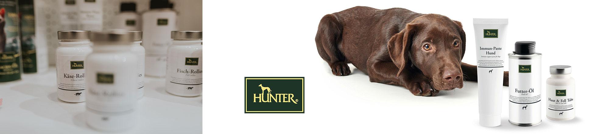 Hunter Ergänzungsfuttermittel für Hunde
