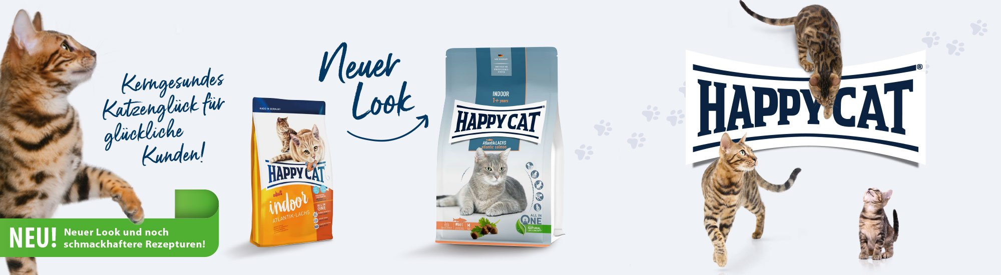 Happy Cat Indoor Katzenfutter
