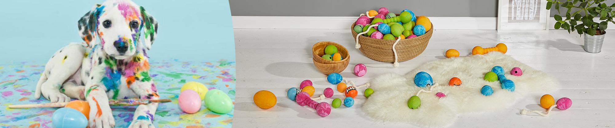 Frohe Ostern für Haustiere