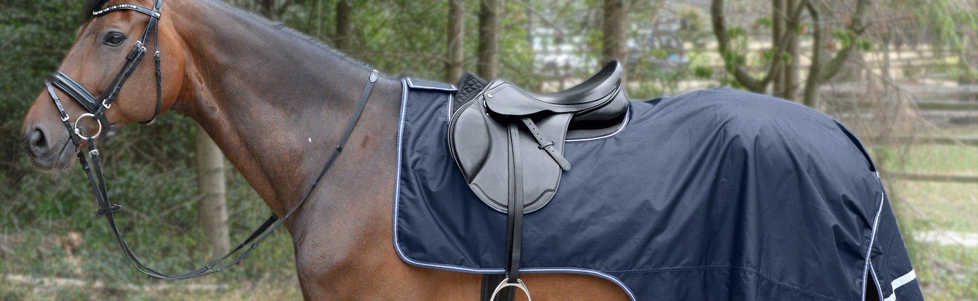 Ausreitdecken für Pferde