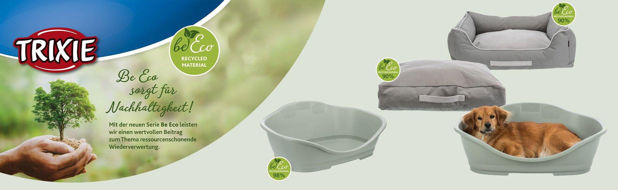 TRIXIE Be Eco - die nachhaltige Produktserie