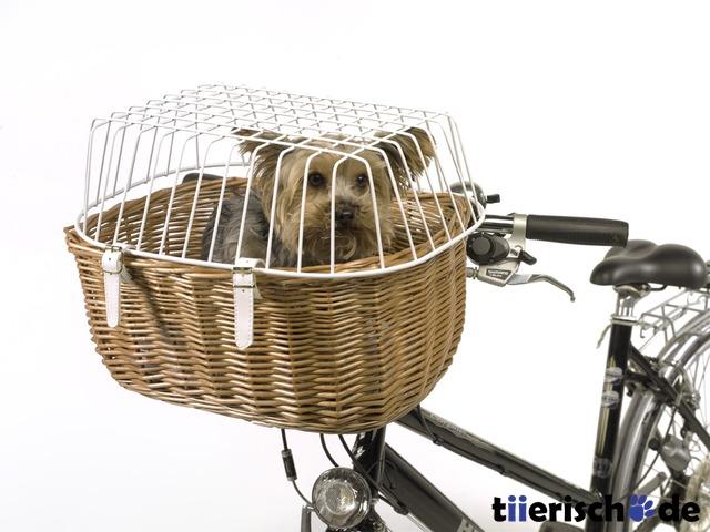 Aumüller Hunde Fahrradkorb für Lenker mit Gitter, Bild 2