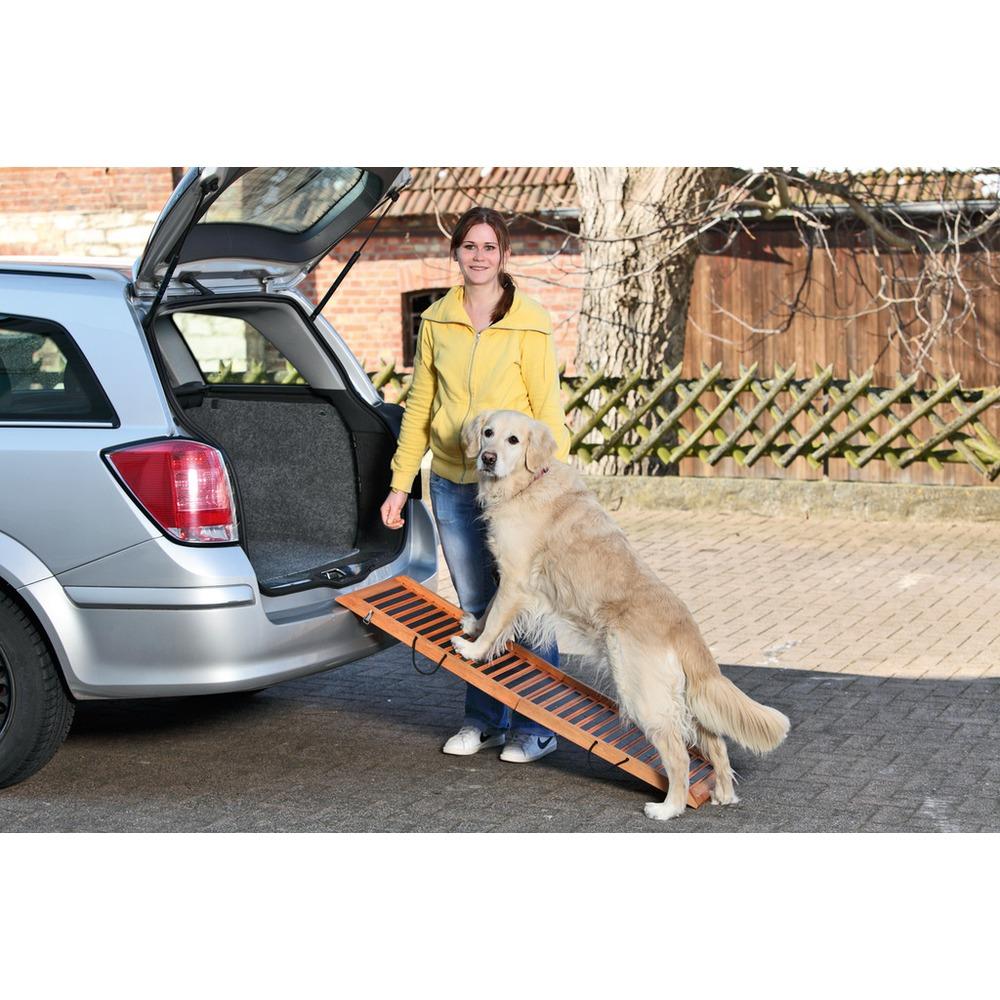 Karlie Hunderampe Holz für Auto klappbar, Bild 3