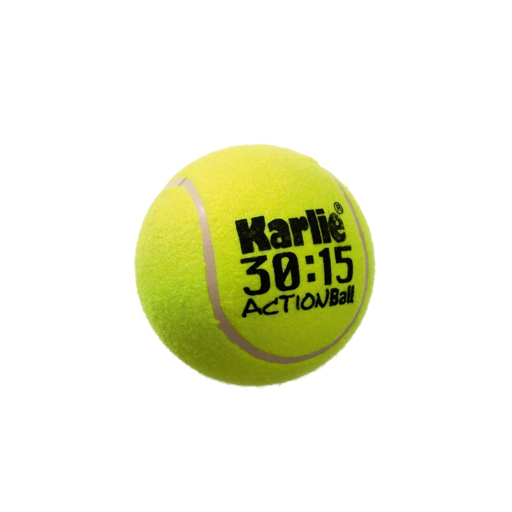 Karlie Big Tennisball für Hunde, ø 13 cm gelb
