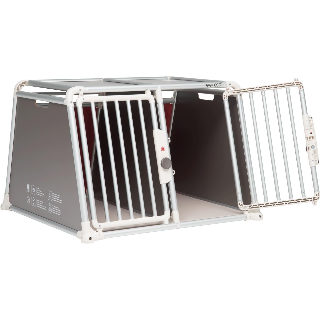 4pets Alu Autobox für 2 Hunde ECO 22, Bild 4