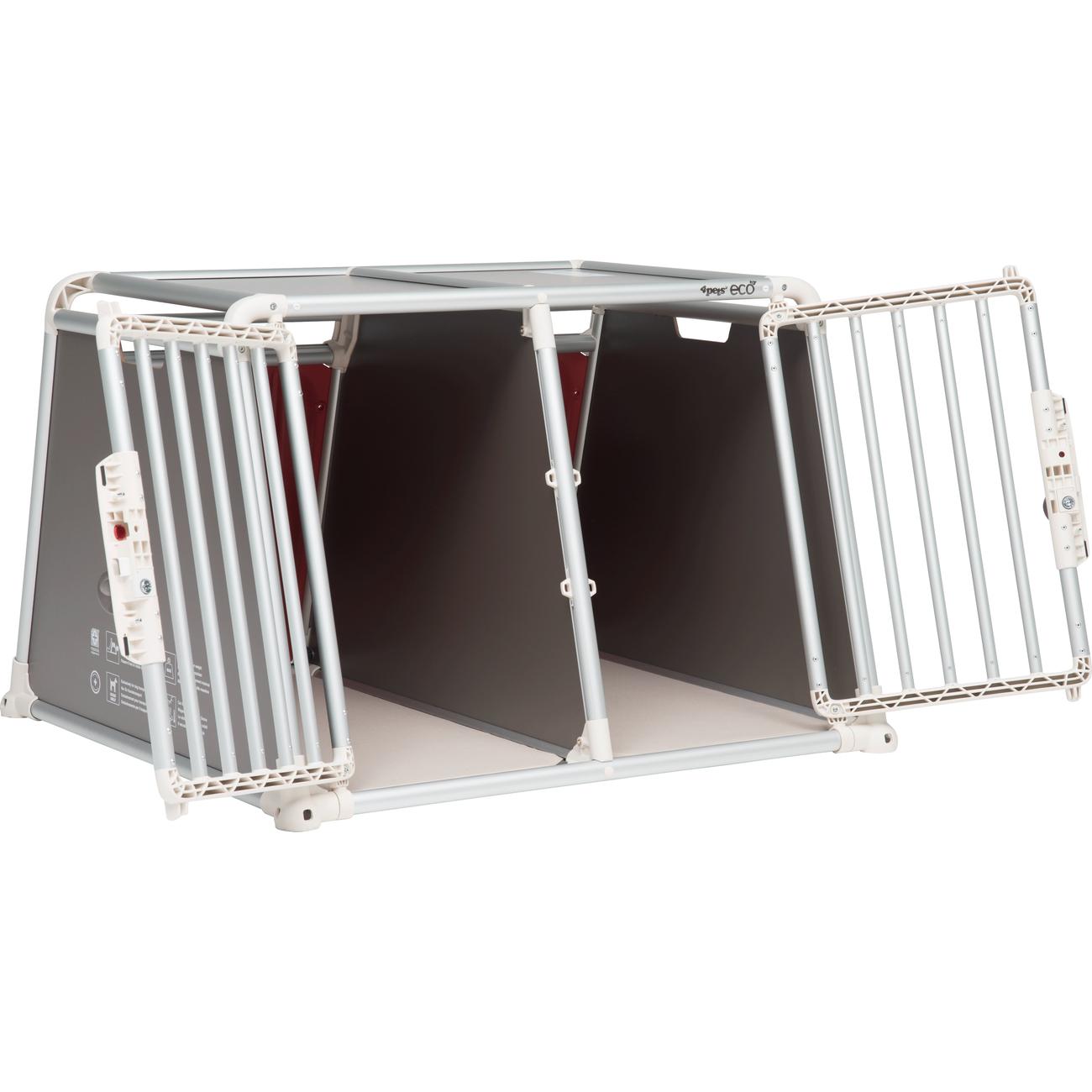 4pets Alu Autobox für 2 Hunde ECO 22, Bild 6