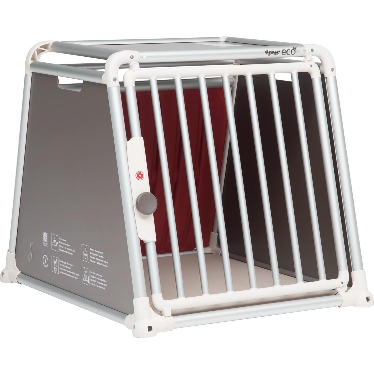4pets Hundebox fürs Auto ECO 3, M: H66 x B68 x T83,5 cm