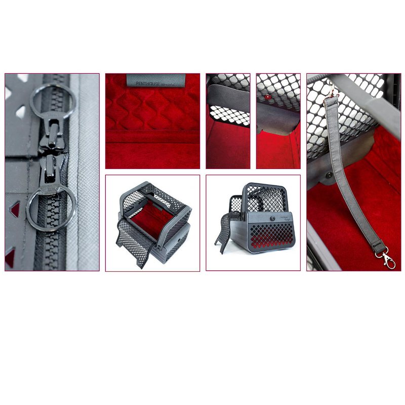 4pets Penthouse Autotransportbox, Bild 6
