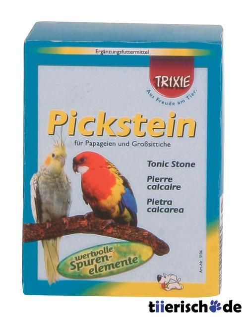 Trixie Papageien-Pickstein mit Halter und Großsittiche 5106, Bild 2