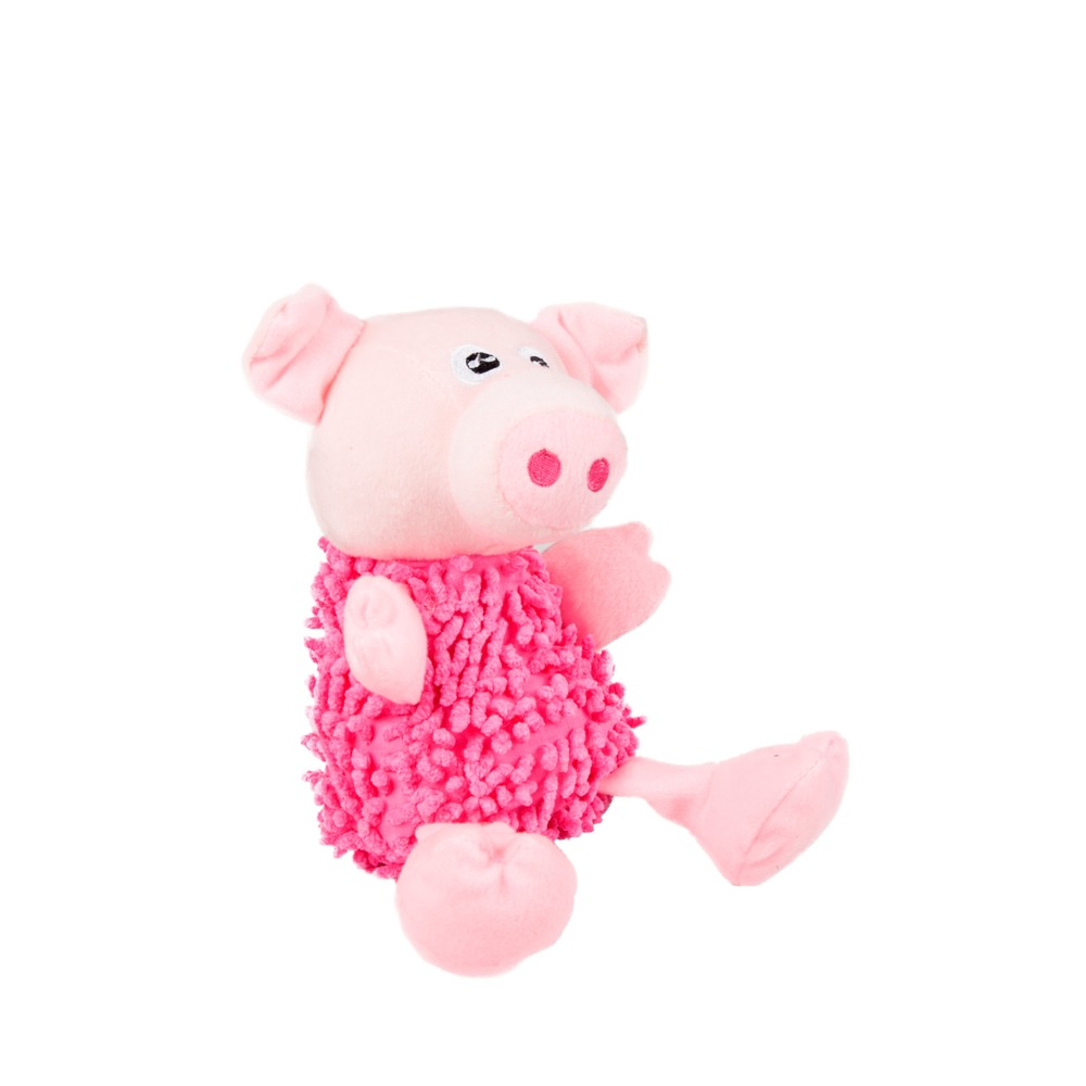 Karlie Hundespielzeug Shaggy Pig