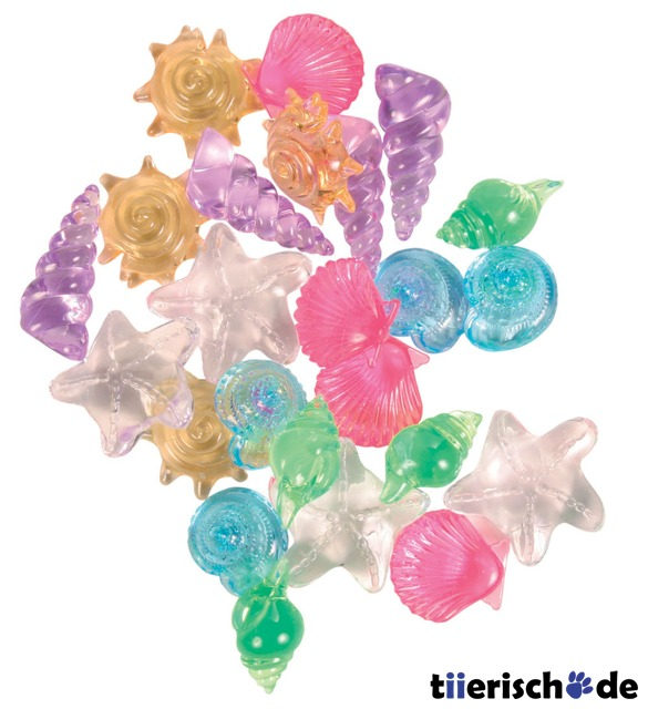Trixie 24 Aquarium-Kristallmuscheln, 24 Aquarium-Kristallmuscheln
