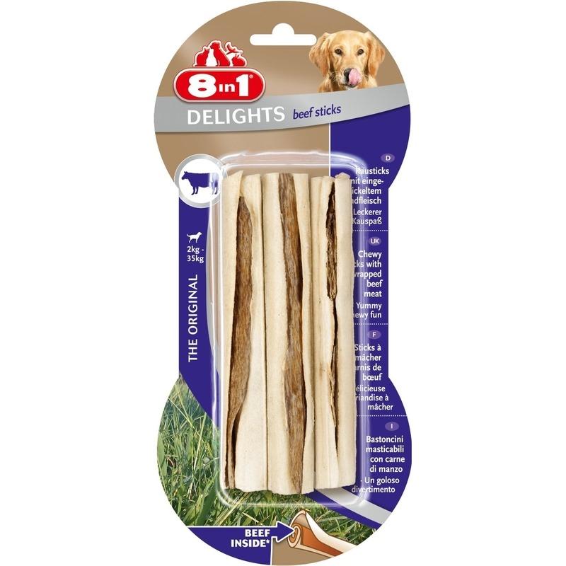 8in1 Beef Delights Kausticks mit Rindfleisch Preview Image