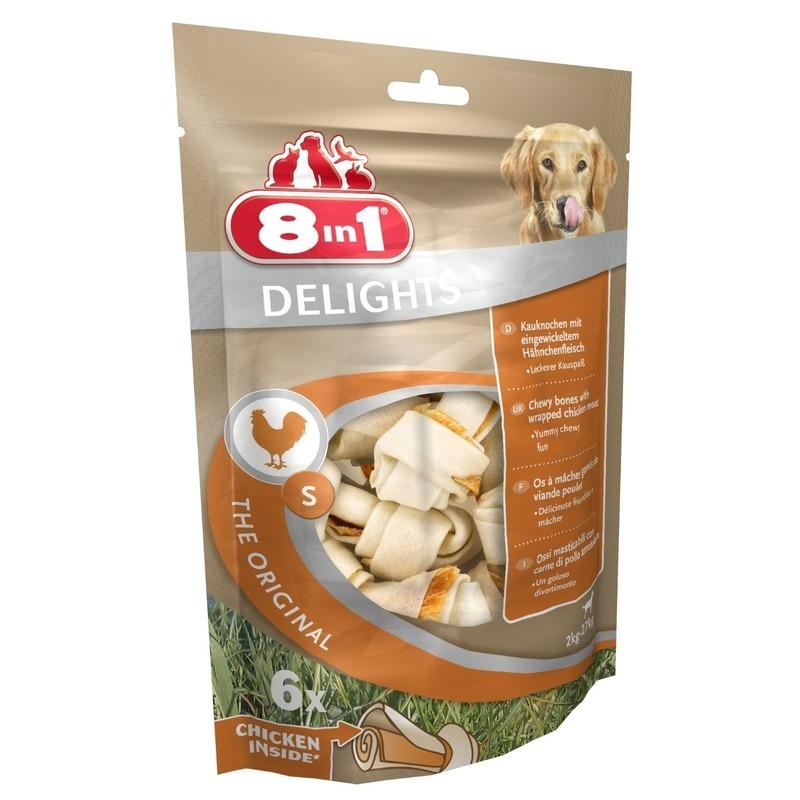 8in1 Delights Kauknochen für Hunde, Bild 4