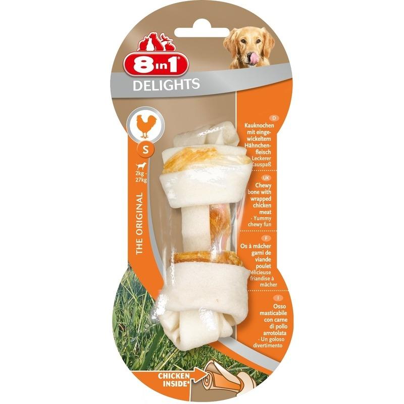 8in1 Delights Kauknochen für Hunde