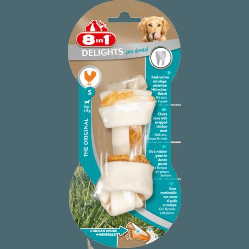 8in1 Delights Pro Dental Zahnpflege Kauknochen für Hunde Preview Image