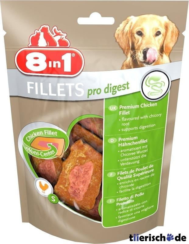 8in1 Fillets Pro Digest gesunde Verdauung, 80 g