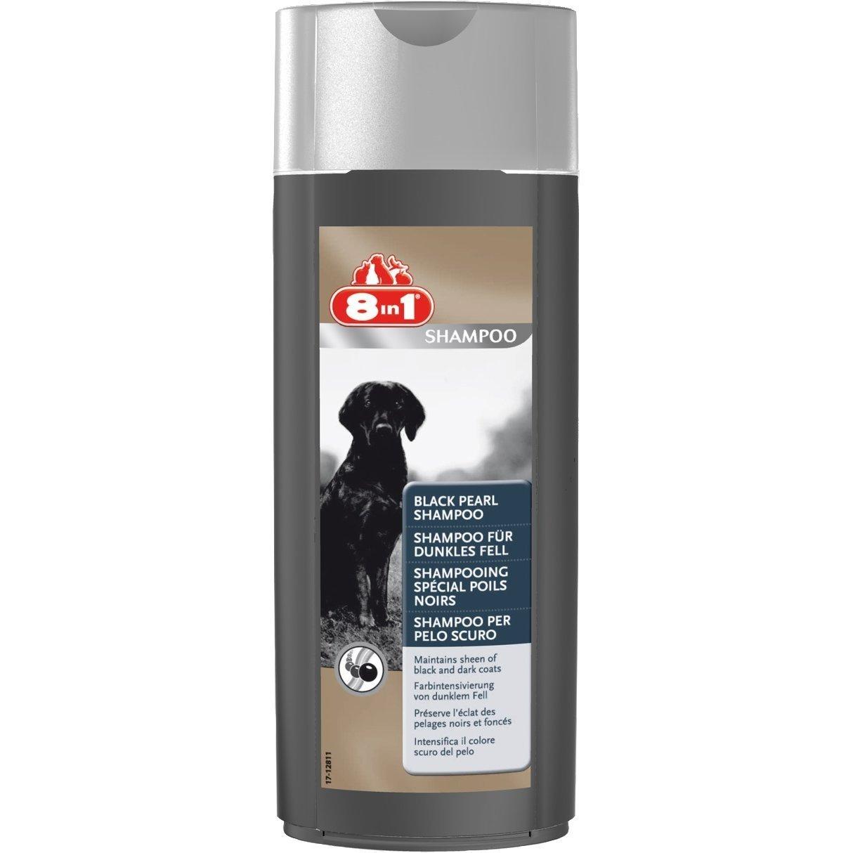 8in1 Shampoo für dunkles Fell, 250 ml