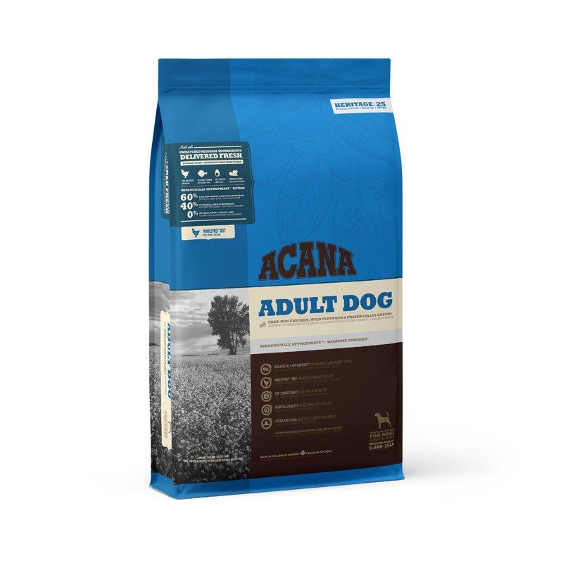 Acana Adult Dog Hundefutter, 11,4 kg