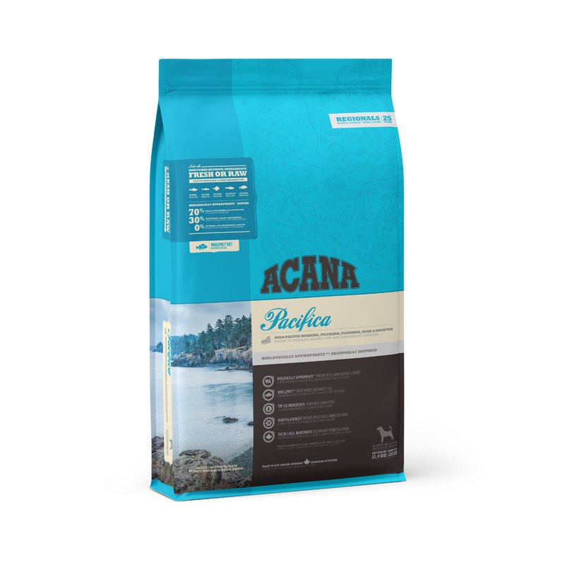 Acana Pacifica getreidefreies Hundefutter, 11,4 kg