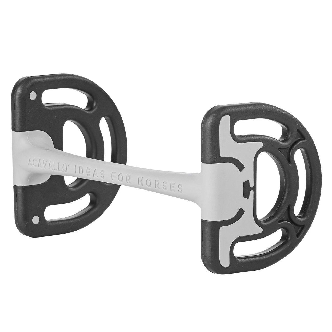BUSSE Stangengebiss Sensitive, Gr. 12,5 cm, Stärke 17 mm - schwarz/grau