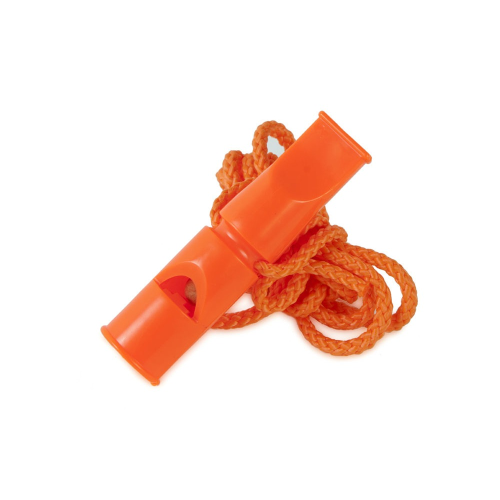 ACME Doppeltonpfeife 641 mit Triller, Orange, 6 cm