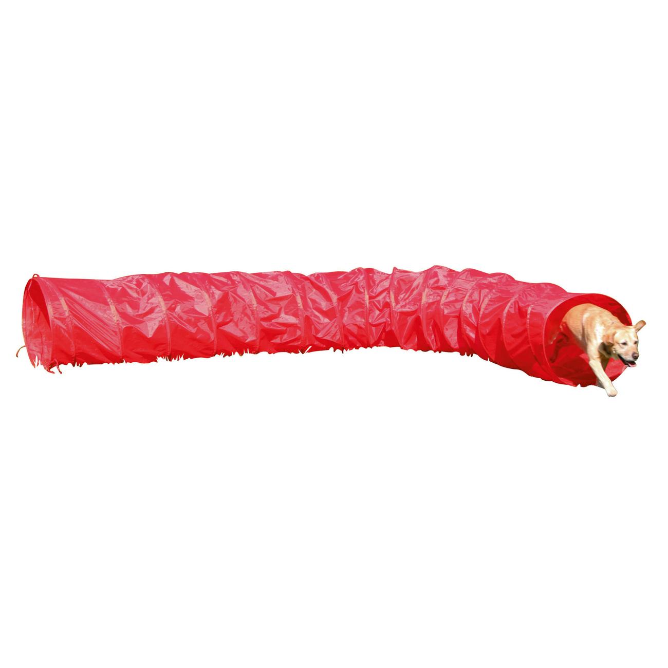Kerbl Agility Hundetunnel rot, 5m, Bild 2