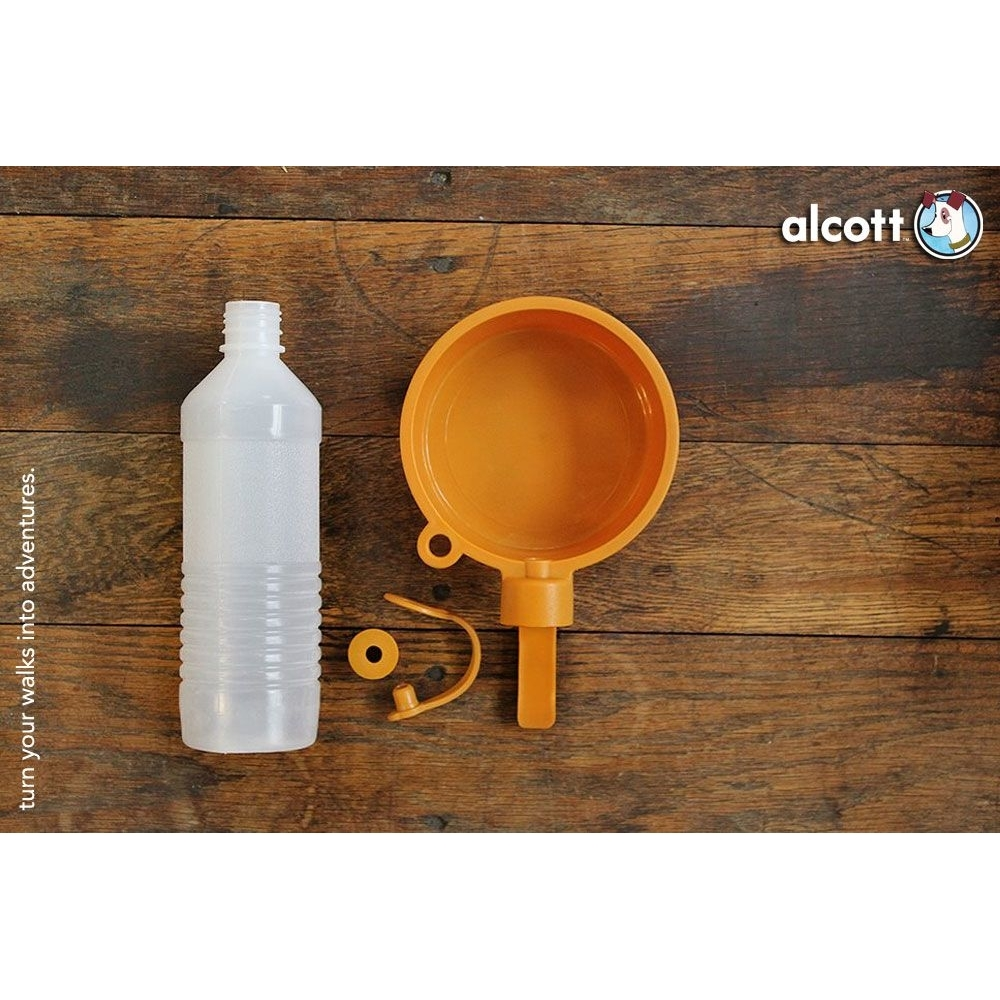 Alcott Trinkflasche mit Napf, Bild 2