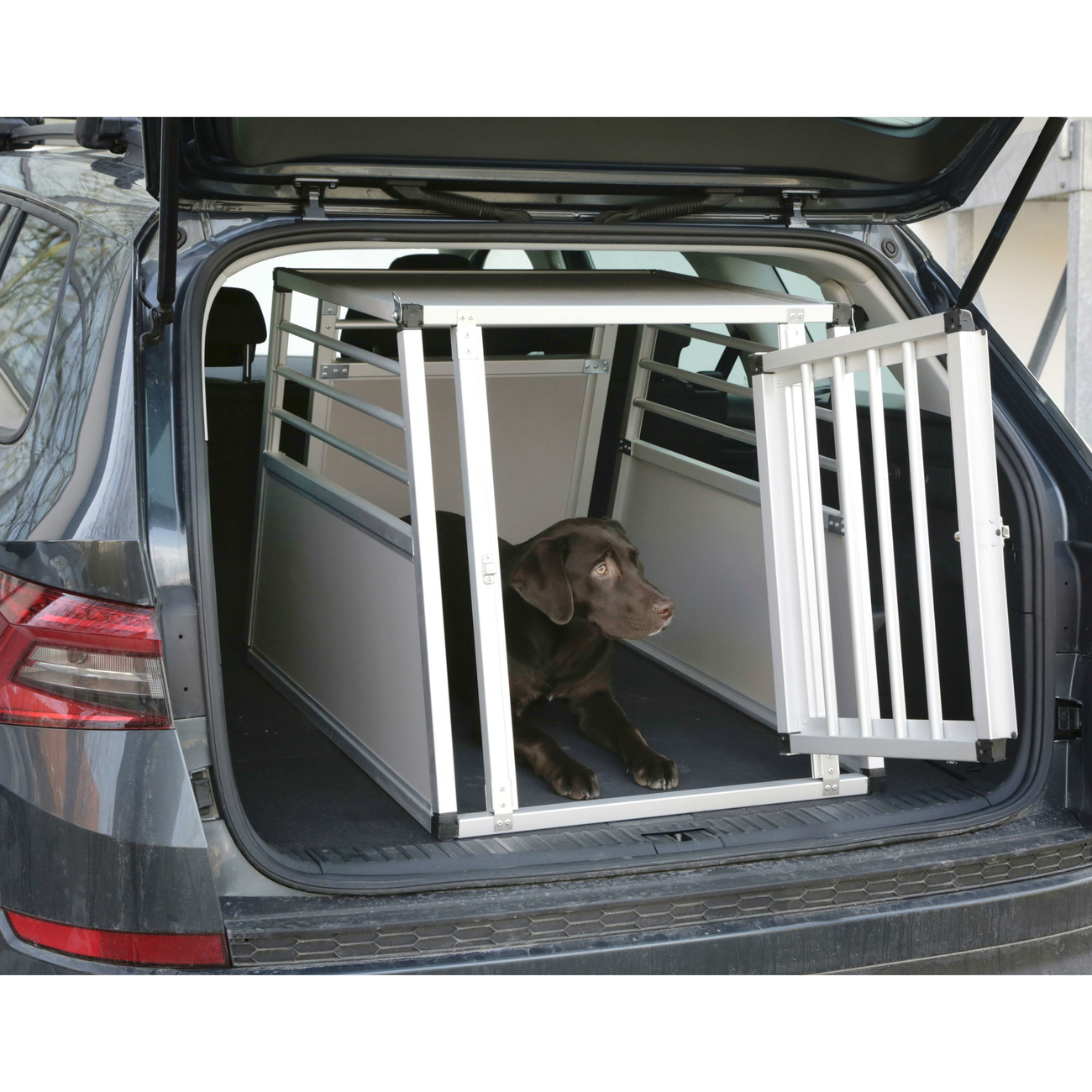 Kerbl Alu-Hunde Transportbox Barry eintürig, Bild 5