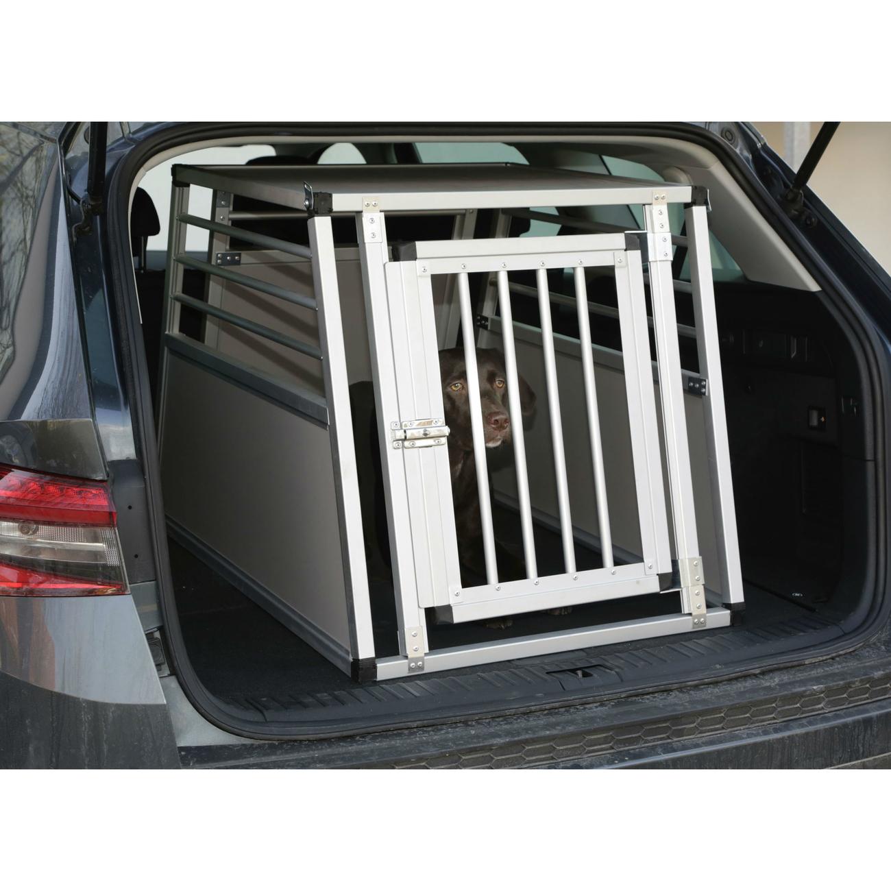 Kerbl Alu-Hunde Transportbox Barry eintürig, Bild 6