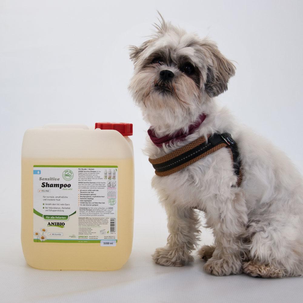 Anibio Hundeshampoo Sensitive, Bild 2