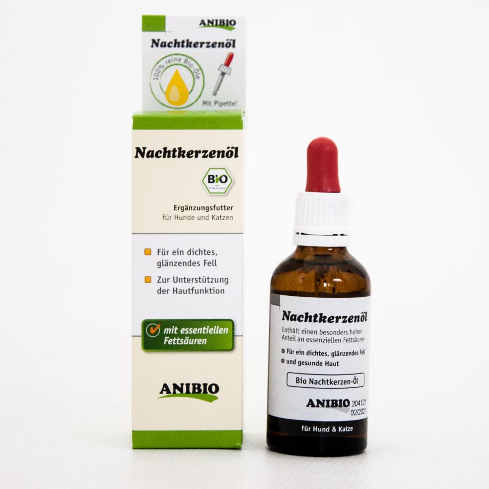Anibio Nachtkerzenöl für Hunde und Katzen, 50 ml