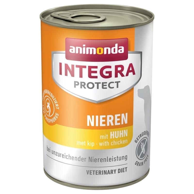 Animonda Integra Protect Niere Dose Hundefutter, Huhn 6x400g