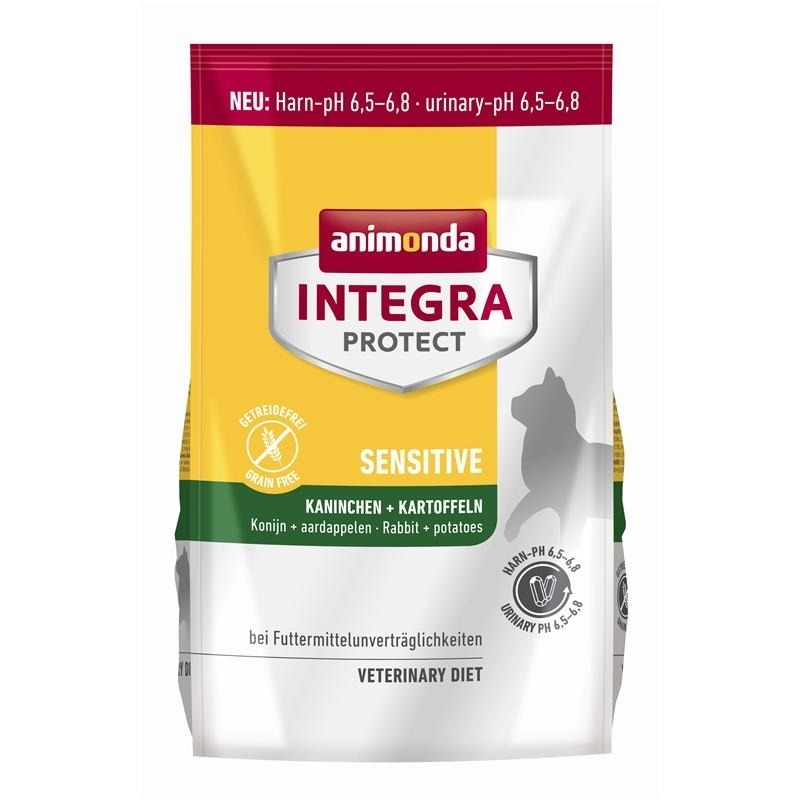 Animonda Integra Protect Sensitiv Katzen Trockenfutter, 4kg