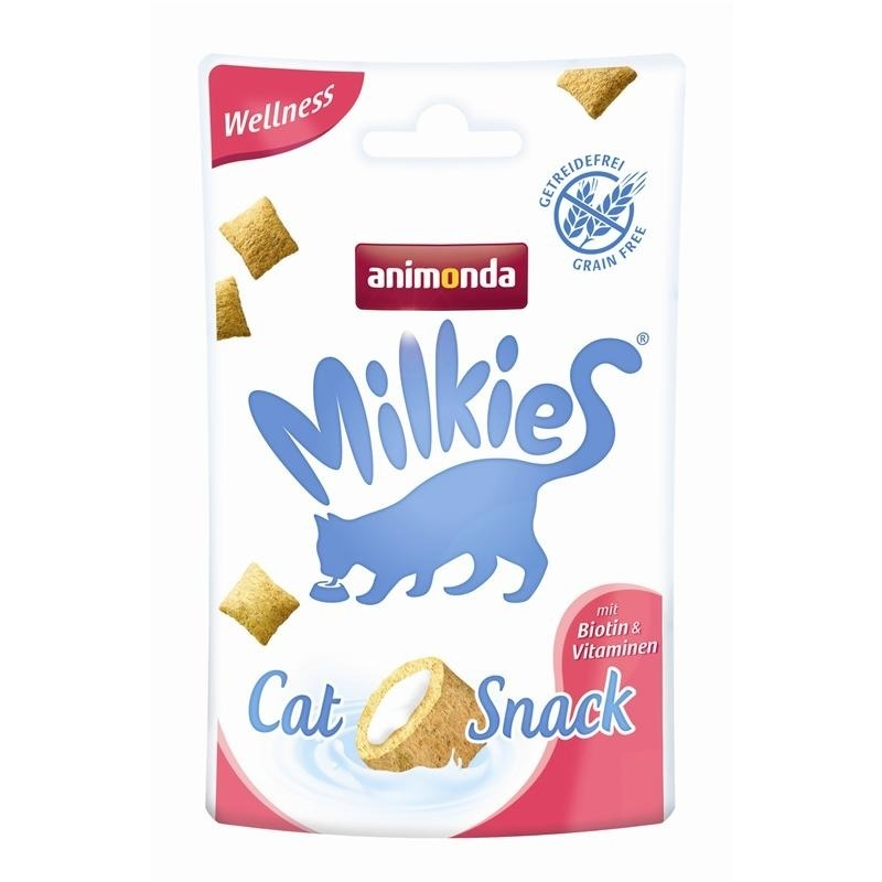 Animonda Katzensnack Milkies Wellness mit Biotin & Vitaminen