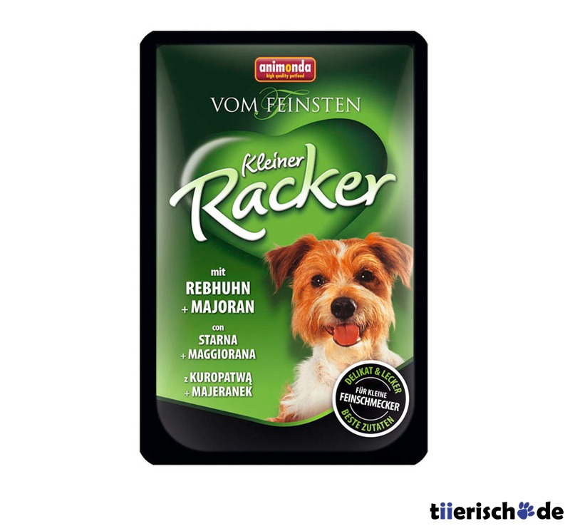 Animonda kleine Racker Portionsbeutel Nassfutter für Hunde, Bild 5
