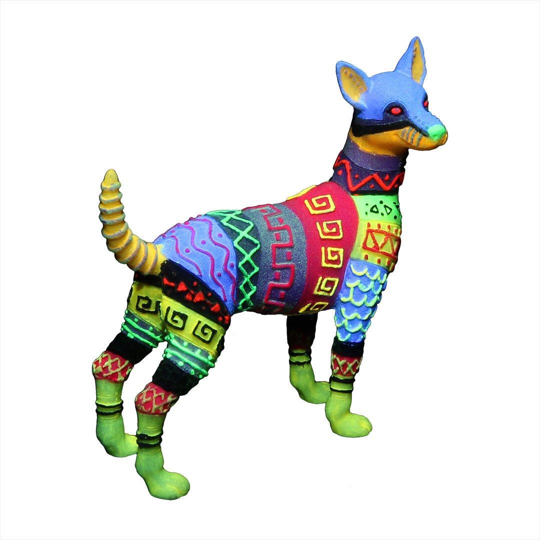 EBI Dia de los Muertos Dog, 9,8x4,3x10,5 cm