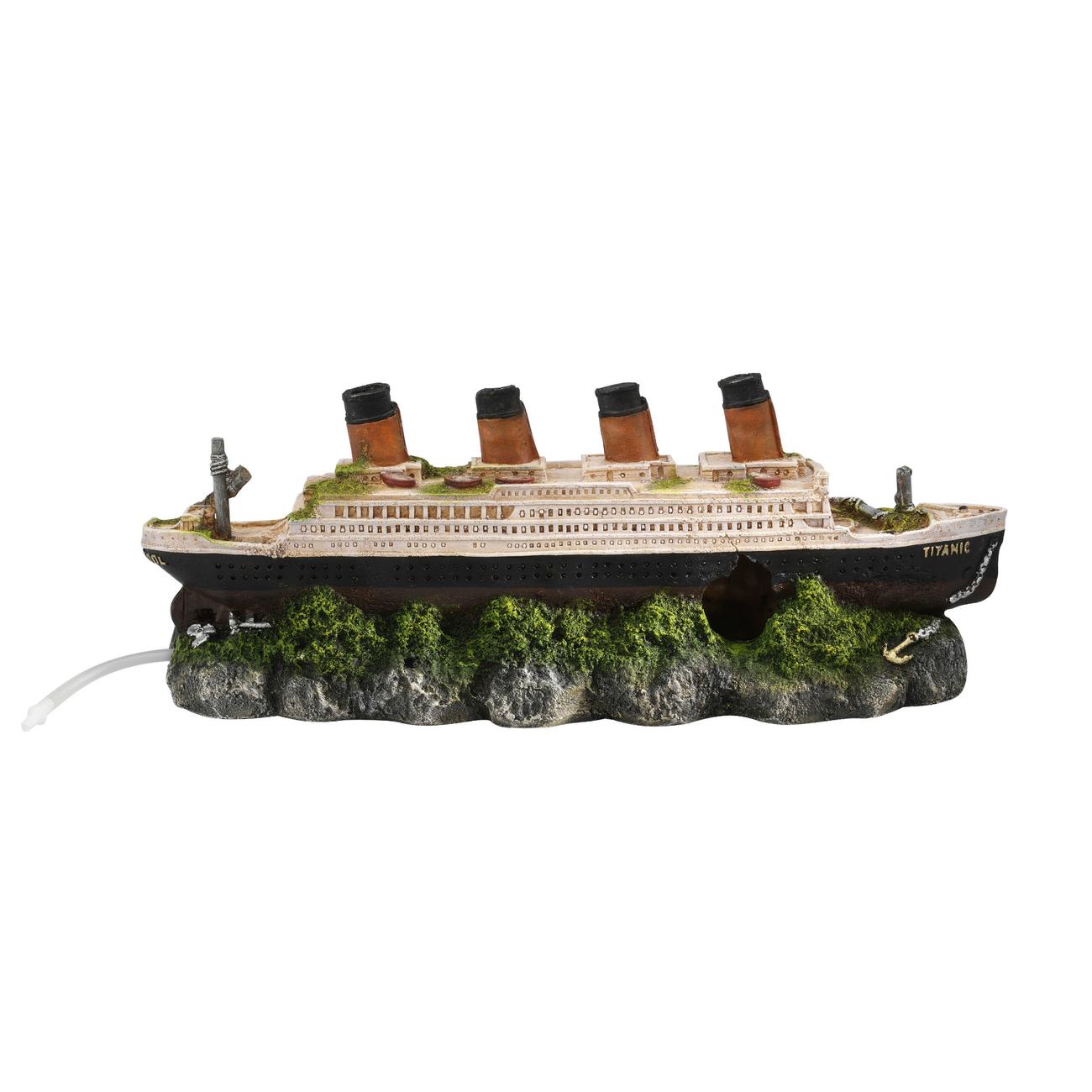 Europet-Bernina Aqua Della Titanic Schiffswrack Aquarium Deko