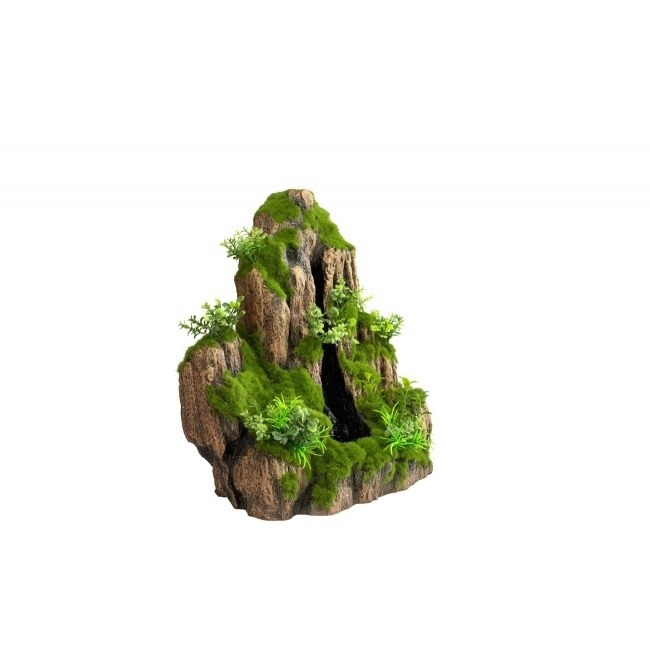 Aqua Della Waterfall Moss Rock Small