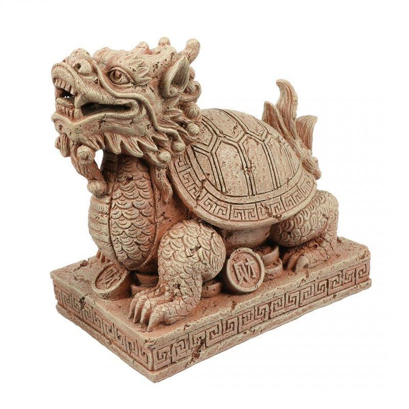 EBI Zodiac Drachenschildkröte, Größe S: 10,2 x 6,7 x 10 cm