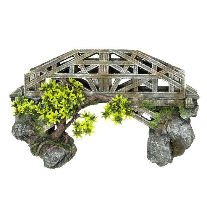 Nobby Aqua Ornaments Brücke mit Pflanzen Preview Image