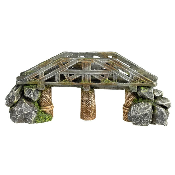 Aqua Ornaments Brücke mit Steinen Bild 1