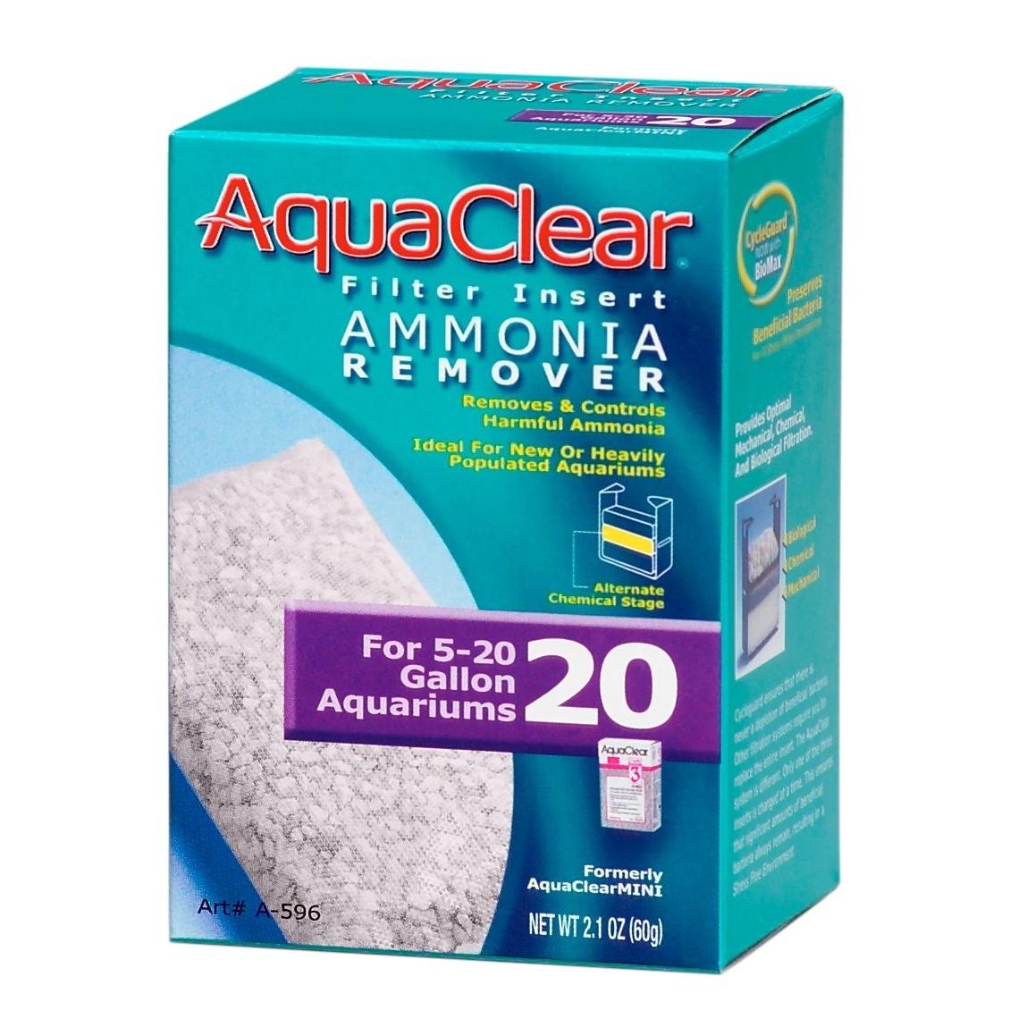 Hagen AquaClear Ammoniakentferner-Filtereinsatz, Mini Ammoniakentferner