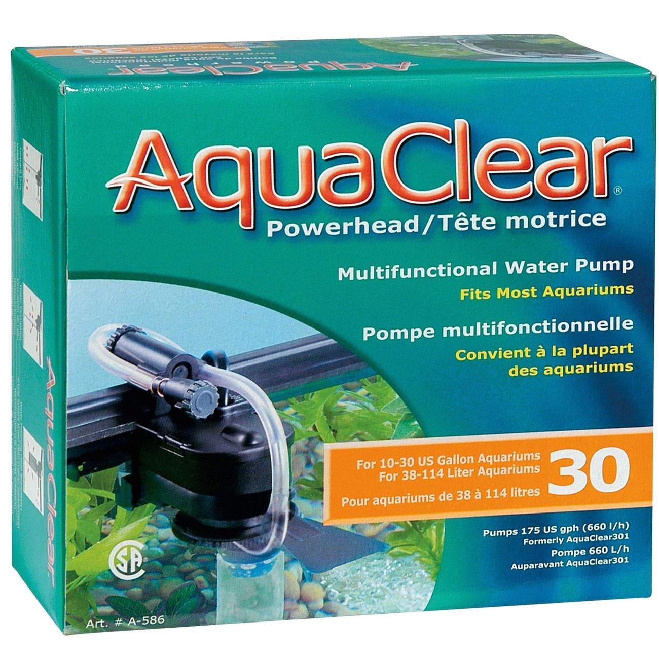 Hagen AquaClear PowerHead, 30- (16,1 x 6,2 x 14,6 cm)